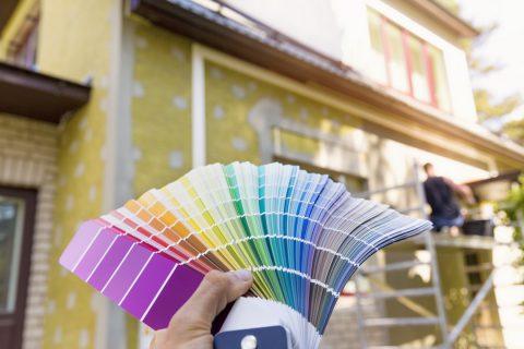Peinture extérieure et réglementation
