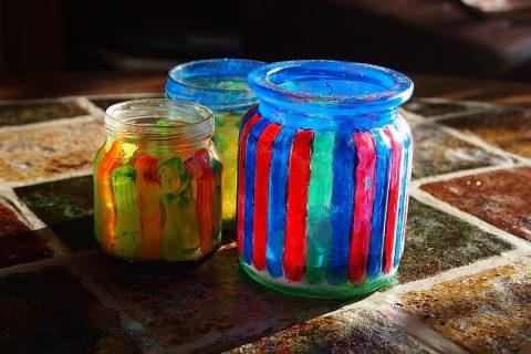 peinture verre