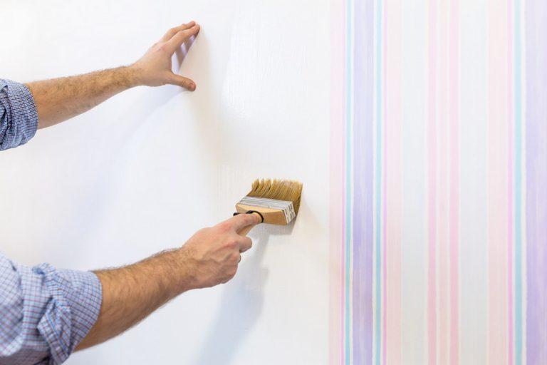 Peindre du papier peint